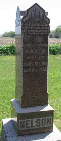 HANSON NELSON, KARN - Clay County, South Dakota | KARN HANSON NELSON - South Dakota Gravestone Photos