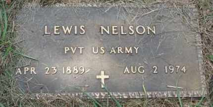 NELSON, LEWIS (MILITARY) - Clay County, South Dakota | LEWIS (MILITARY) NELSON - South Dakota Gravestone Photos