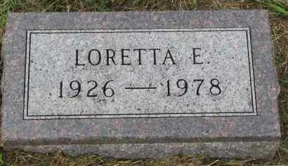 NELSON, LORETTA E. - Clay County, South Dakota   LORETTA E. NELSON - South Dakota Gravestone Photos