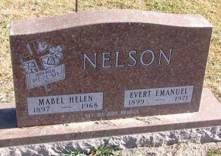 NELSON, MABEL HELEN - Clay County, South Dakota | MABEL HELEN NELSON - South Dakota Gravestone Photos