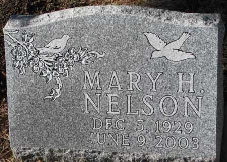NELSON, MARY H. - Clay County, South Dakota | MARY H. NELSON - South Dakota Gravestone Photos