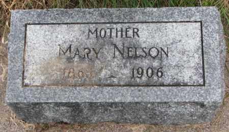 NELSON, MARY - Clay County, South Dakota   MARY NELSON - South Dakota Gravestone Photos