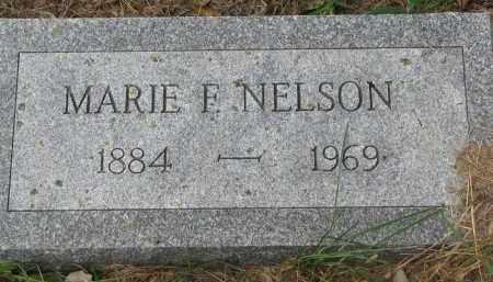 NELSON, MARIE F. - Clay County, South Dakota | MARIE F. NELSON - South Dakota Gravestone Photos