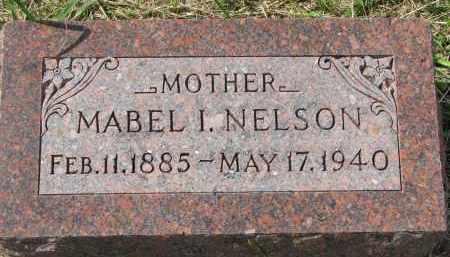 NELSON, MABEL I. - Clay County, South Dakota   MABEL I. NELSON - South Dakota Gravestone Photos