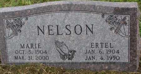 NELSON, ERTEL - Clay County, South Dakota | ERTEL NELSON - South Dakota Gravestone Photos