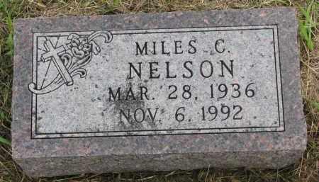 NELSON, MILES C. - Clay County, South Dakota   MILES C. NELSON - South Dakota Gravestone Photos