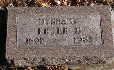 NELSON, PETER C. - Clay County, South Dakota   PETER C. NELSON - South Dakota Gravestone Photos