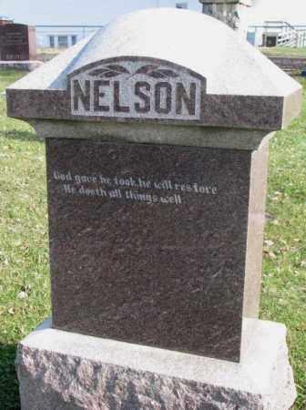 NELSON, PLOT - Clay County, South Dakota   PLOT NELSON - South Dakota Gravestone Photos