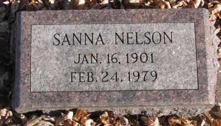 NELSON, SANNA - Clay County, South Dakota | SANNA NELSON - South Dakota Gravestone Photos