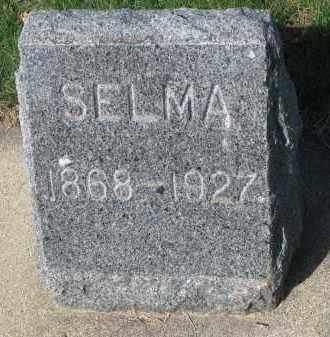 NELSON, SELMA - Clay County, South Dakota | SELMA NELSON - South Dakota Gravestone Photos