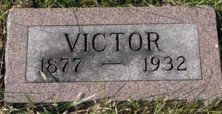 NELSON, VICTOR - Clay County, South Dakota | VICTOR NELSON - South Dakota Gravestone Photos