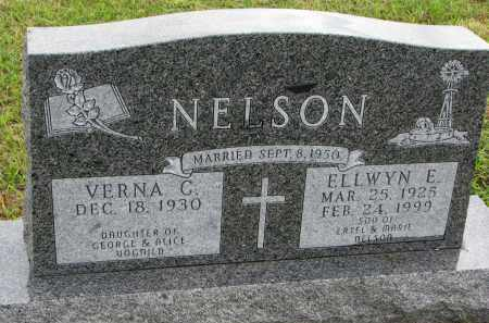 NELSON, ELLWYN E. - Clay County, South Dakota | ELLWYN E. NELSON - South Dakota Gravestone Photos