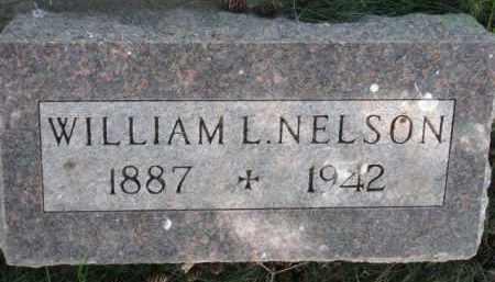 NELSON, WILLIAM L. - Clay County, South Dakota | WILLIAM L. NELSON - South Dakota Gravestone Photos