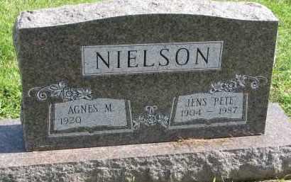 "NIELSON, JENS ""PETE"" - Clay County, South Dakota   JENS ""PETE"" NIELSON - South Dakota Gravestone Photos"