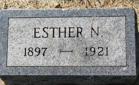 NILSON, ESTHER N. - Clay County, South Dakota | ESTHER N. NILSON - South Dakota Gravestone Photos