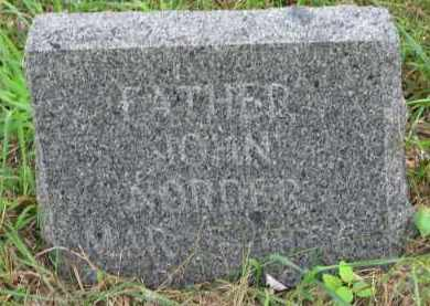 NORDER, JOHN - Clay County, South Dakota   JOHN NORDER - South Dakota Gravestone Photos