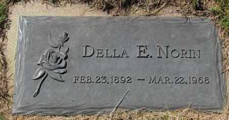 NORIN, DELLA E. - Clay County, South Dakota | DELLA E. NORIN - South Dakota Gravestone Photos
