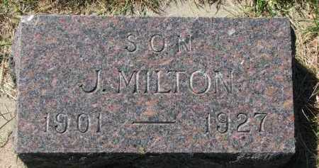 NORIN, J. MILTON - Clay County, South Dakota | J. MILTON NORIN - South Dakota Gravestone Photos