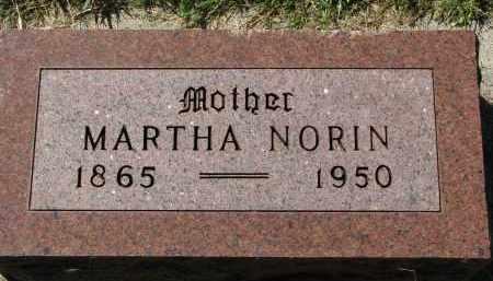 NORIN, MARTHA - Clay County, South Dakota | MARTHA NORIN - South Dakota Gravestone Photos