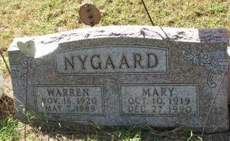 NYGAARD, WARREN - Clay County, South Dakota | WARREN NYGAARD - South Dakota Gravestone Photos