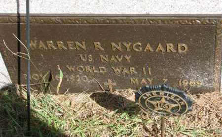 NYGAARD, WARREN R. (WW II) - Clay County, South Dakota | WARREN R. (WW II) NYGAARD - South Dakota Gravestone Photos