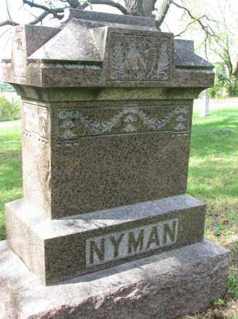 NYMAN, FAMILY STONE - Clay County, South Dakota | FAMILY STONE NYMAN - South Dakota Gravestone Photos