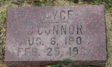 O'CONNOR, ALYCE - Clay County, South Dakota | ALYCE O'CONNOR - South Dakota Gravestone Photos