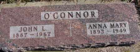 O'CONNOR, ANNA MARY - Clay County, South Dakota | ANNA MARY O'CONNOR - South Dakota Gravestone Photos