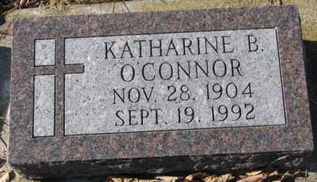 O'CONNOR, KATHARINE B. - Clay County, South Dakota | KATHARINE B. O'CONNOR - South Dakota Gravestone Photos