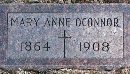 O'CONNOR, MARY ANNE - Clay County, South Dakota   MARY ANNE O'CONNOR - South Dakota Gravestone Photos