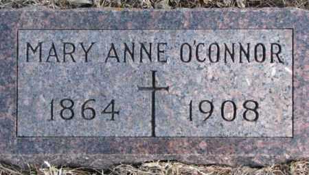 O'CONNOR, MARY ANNE - Clay County, South Dakota | MARY ANNE O'CONNOR - South Dakota Gravestone Photos