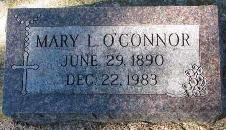 O'CONNOR, MARY L. - Clay County, South Dakota | MARY L. O'CONNOR - South Dakota Gravestone Photos