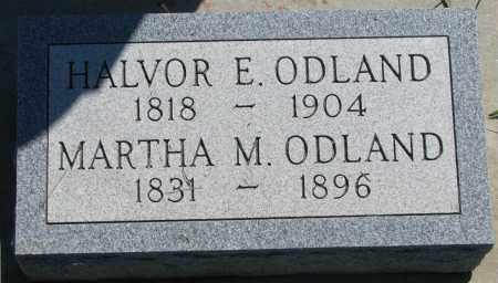 ODLAND, MARTHA M. - Clay County, South Dakota | MARTHA M. ODLAND - South Dakota Gravestone Photos