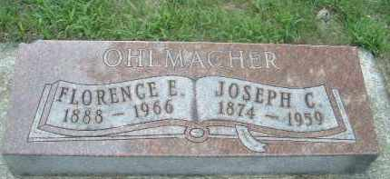 OHLMACHER, FLORENCE E. - Clay County, South Dakota | FLORENCE E. OHLMACHER - South Dakota Gravestone Photos