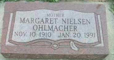 NIELSEN OHLMACHER, MARGARET - Clay County, South Dakota | MARGARET NIELSEN OHLMACHER - South Dakota Gravestone Photos
