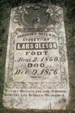 OLESON, LARS - Clay County, South Dakota   LARS OLESON - South Dakota Gravestone Photos
