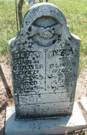 OLIVER, BENJAMIN - Clay County, South Dakota | BENJAMIN OLIVER - South Dakota Gravestone Photos