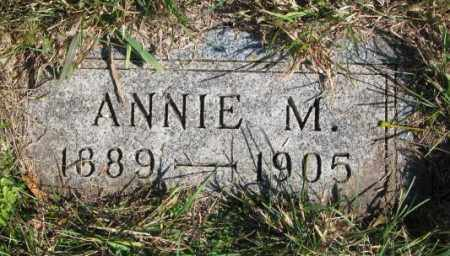 OLSON, ANNIE M. - Clay County, South Dakota   ANNIE M. OLSON - South Dakota Gravestone Photos