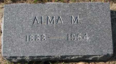 OLSON, ALMA M. - Clay County, South Dakota | ALMA M. OLSON - South Dakota Gravestone Photos