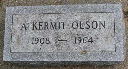 OLSON, A. KERMIT - Clay County, South Dakota   A. KERMIT OLSON - South Dakota Gravestone Photos