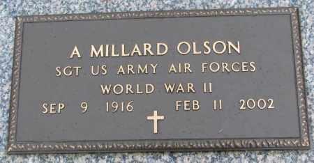 OLSON, A. MILLARD - Clay County, South Dakota   A. MILLARD OLSON - South Dakota Gravestone Photos