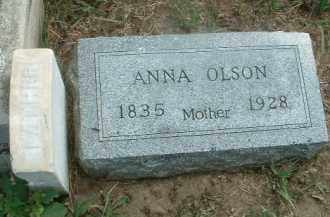 OLSON, ANNA - Clay County, South Dakota | ANNA OLSON - South Dakota Gravestone Photos