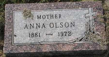 OLSON, ANNA - Clay County, South Dakota | ANNA OLSON - South Dakota Gravestone Photos