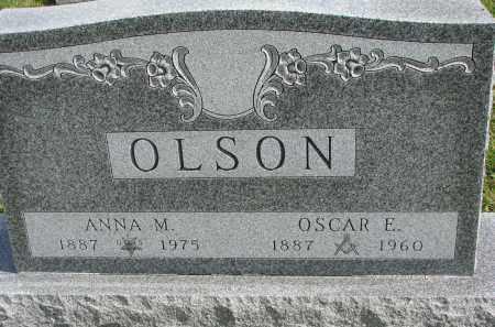 OLSON, OSCAR E. - Clay County, South Dakota | OSCAR E. OLSON - South Dakota Gravestone Photos
