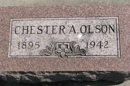 OLSON, CHESTER A. - Clay County, South Dakota | CHESTER A. OLSON - South Dakota Gravestone Photos