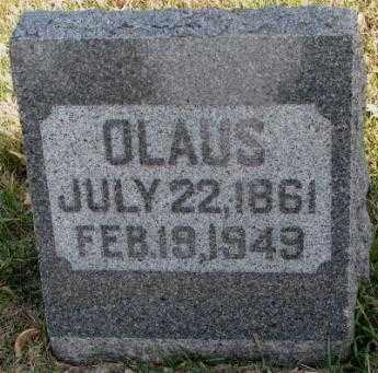 OLSON, CLAUS - Clay County, South Dakota   CLAUS OLSON - South Dakota Gravestone Photos
