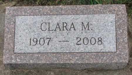 OLSON, CLARA M. - Clay County, South Dakota | CLARA M. OLSON - South Dakota Gravestone Photos