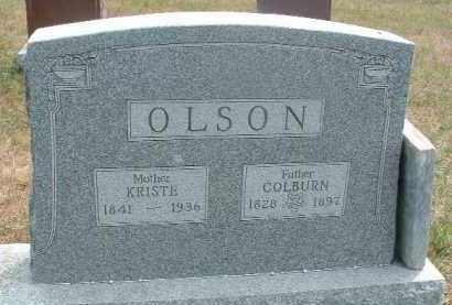 OLSON, KRISTE - Clay County, South Dakota | KRISTE OLSON - South Dakota Gravestone Photos