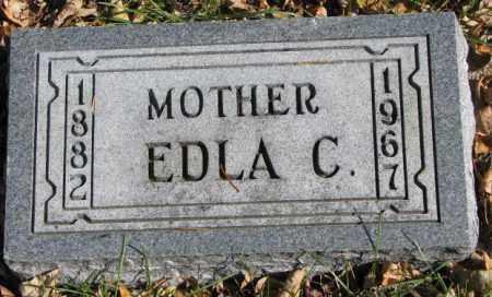OLSON, EDLA C. - Clay County, South Dakota | EDLA C. OLSON - South Dakota Gravestone Photos