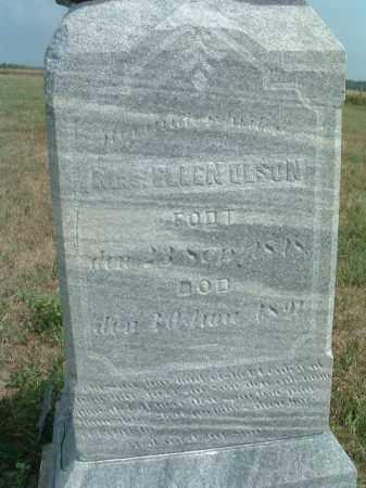 OLSON, ELLEN - Clay County, South Dakota | ELLEN OLSON - South Dakota Gravestone Photos